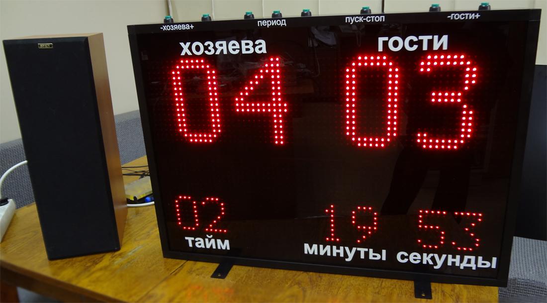 Табло информационное «ХОККЕЙ-1»